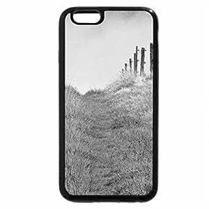 iPhone 6S Case, iPhone 6 Case (Black & White) - Winter morning mist