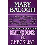 MARY BALOGH: SERIES READING ORDER & BOOK CHECKLIST.: SERIES LIST INCLUDES: MAINWARING, WAITE, MERRICK-FRAZER, THE WEB, DARK ANGEL & MORE! (Top Romance Authors Reading Order & Checklists Series 46)