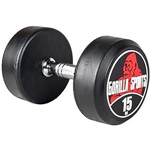 Gorilla Sports 15 KG Rundhantel -