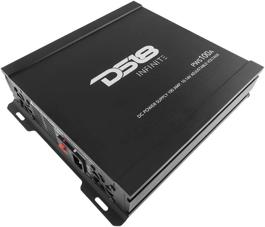 DS18 PWS100A 100-AMP Switching DC Power Supply with Voltmeter Included