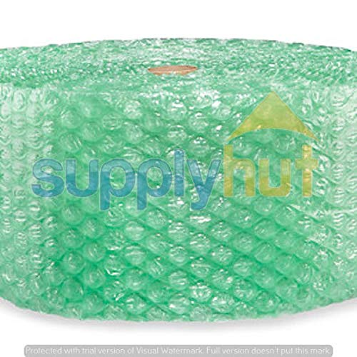 Shipping Supplies & Packaging Materials 1/2'' SH Recycled Large Bubble Cushioning Wrap Padding Roll 125' x 12'' Wide 125FT Packaging and Packing Supplies Accessories