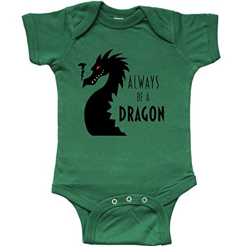 Dragon Infant Creeper (inktastic Always Be a Dragon Infant Creeper Newborn Kelly Green)