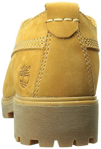 Timberland Lyonsdale_lyonsdale Lace Ox - Zapatos de cordones oxford Mujer Marrón - marrón (Wheat Nubuck)