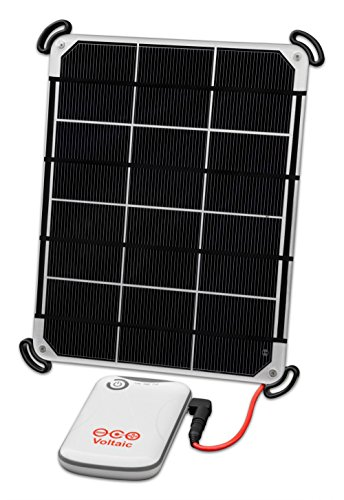 Voltaic Systems 6W Solar Panel Kit with External Battery Pack (4,000mAh) - Silver