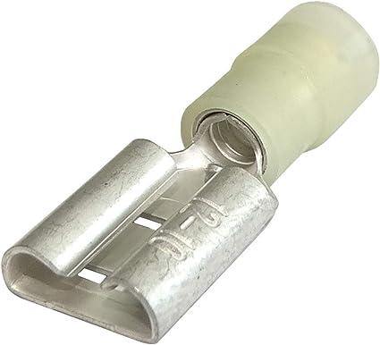 Voiture électrique 2,8 mm Non isolées Cosses Ton OR 100pcs