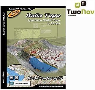 Twonav Carte Italie apennins du centre top 25 pour GPS CG-1/25SITPPENNIN