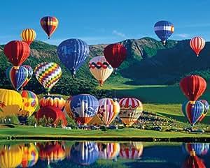 "Springbok ""Balloon Bonaza"" 1000 Piece Jigsaw Puzzle"