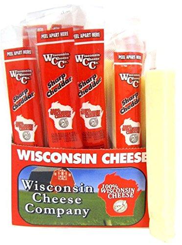 Wisconsin 1oz. Sharp Cheddar Cheese Snack Stick