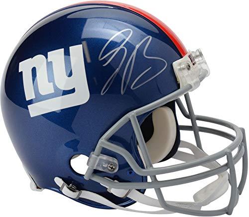 (Saquon Barkley New York Giants Autographed Riddell Pro-Line Helmet - Panini Authentic - Fanatics Authentic)