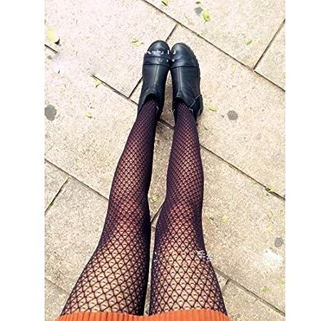 Amazon.com: Gold Happy Female Pantyhose Back Seam Women Ladies Tights Plus Size Women Stockings Lace Sheer Nylon Fishnet Stockings Collant Femme: Kitchen & ...