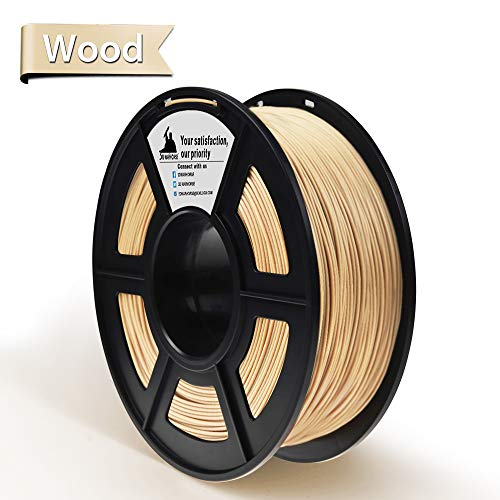 3D Hero PLA 3D Printer Filament Wood 1.75 mm,1KG(2.2LBS) Spool, Dimensional Accuracy +/- 0.02 mm
