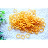 """Yagopet 500pcs/pack New Puppy Dog Hair Rubber Bands Top Quality Elastics 1/4"""" Peferct for Pet Grooming Topknot"""