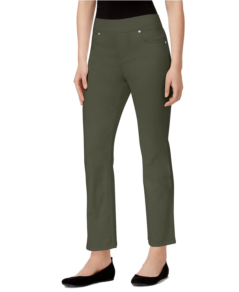 Style & Co. Women's Ankle Jeans (Olive, X-Large)