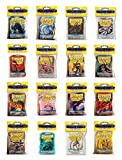 Dragon Shield Bundle: 16 Packs of 50 Count Japanese Size Mini Card Sleeves - All Available Colors - 800 Sleeves