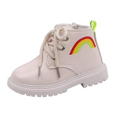 Poachers Zapatos Bebe niña Primeros Pasos Botas Casuales con ...