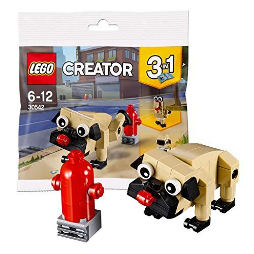 Bag Pug - LEGO Creator 3 in 1 Pug, Turkey, and Koala Bear (30542) Bagged
