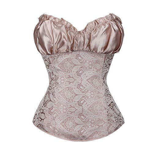 CofeeMO Women's Sexy Low Cut Wedding Corsets,Girdle Waist Trainer Bandage Body Shaper for -