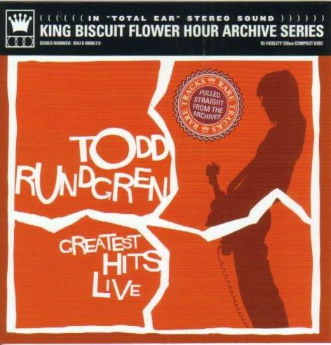 Todd Rundgren - Greatest Hits Live