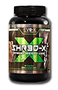 SHR3D-X (60 Capsules): Xtreme Weight Loss, Burn Fat, Get Shredded, Curb Appetite, Kill Cravings, Boost Metabolism. Brand NEW Fat Burning Formula! EVO-X Health Products 100% Platinum Guaranteed!