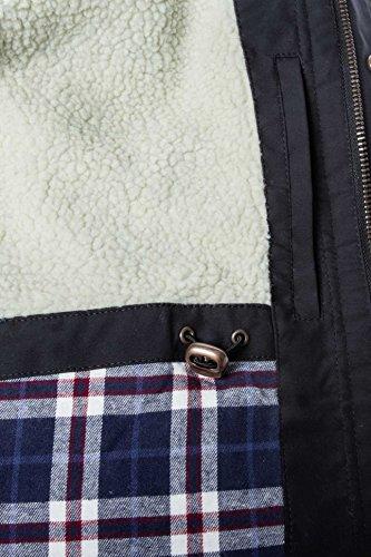 D'hiver Noir Jacket Evang Veste solid 5Afwgnqx