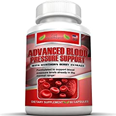 NATURAL BLOOD PRESSURE SUPPORT SUPPLEMENT SOLUTION FORMULA FOR YOUR BLOOD PRESSURE HEALTH - Promote blood pressure health for men and women without exposing your body to drugs and harsh chemical ingredients - Vitamin C, Vitamin B-6 (pyridoxine hy...