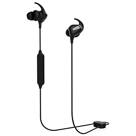COWIN HE8 Active Noise Cancelling Headphones, Wireless Headphones Bluetooth Headphones with Hard Travel Case Built-in Microphone Volume Control Enhanced Bass Earbuds – Black