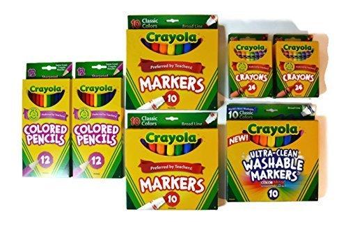 Bundle Crayola Pencils Crayons Markers