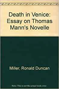 Free Essays on Death in Venice by Thomas Mann