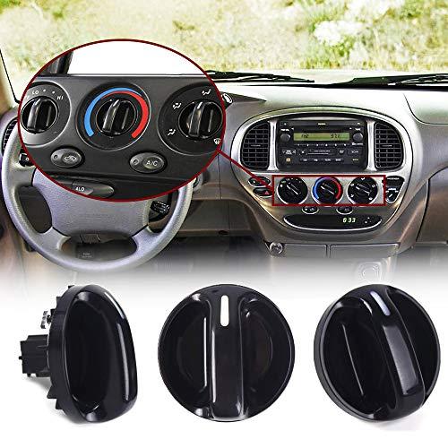 3Pcs Quality AC Climate Control Knob Replaces Fits Toyota Tundra 55905-0C010 USA