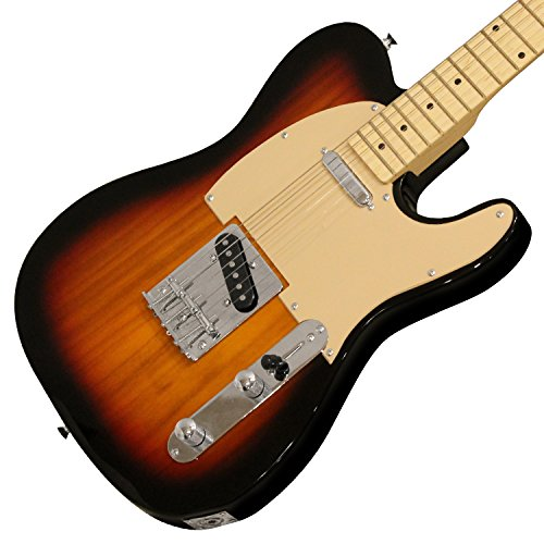 Sawtooth ET Series Electric Guitar Kit, Sunburst with Aged White Pickguard - Includes 10W Amp and ChromaCast Accessories