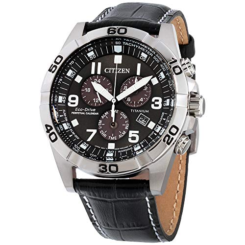 Citizen Watches Men's BL5551-14H Eco-Drive Black One Size