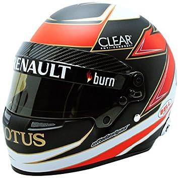 Mini Helmet – Miniatura de Coche Cascos K. Raikkonen Lotus F1 Team 2013 (Escala