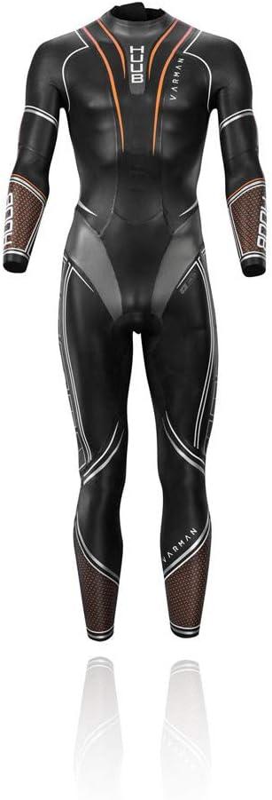HUUB(フーブ) VARMAN 3:5 ヴァルマン フルスーツ ウェットスーツ 3:5 トライアスロンウエットスーツ 黒/オレンジ Large