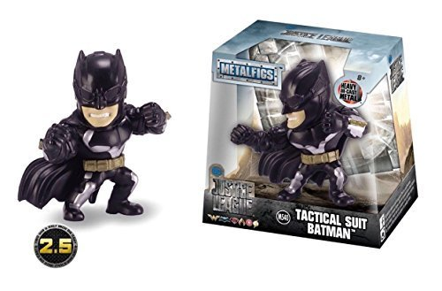 JADA 2.5 ACTION FIGURE COLLECTION - METALFIGS - Justice League Wave 1 - TACTICAL SUIT BATMAN (M540)