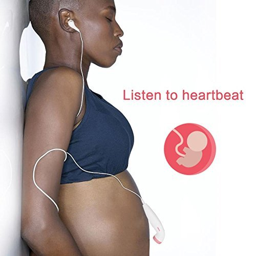 Heartbeat Baby Monitor Foruchoice Safe Portable Listening Device Ideal for Home Use Perfect Gift for Pregnant Couples