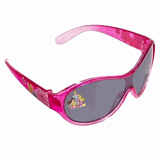 Disney Authentic Princess Glitter Jeweled Kids Sunglasses 100/% UV Protection NWT