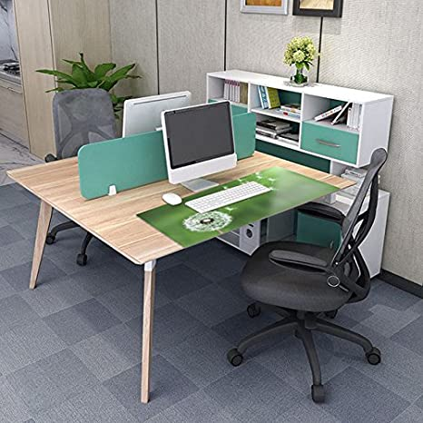 Kassidy Hamilton Electrostatic Material Adsorption Computer Desk Pad Stylish Table Mat Cover Optional Colors 31 24inch Pissenlit Normal Amazon Co Uk Computers Accessories