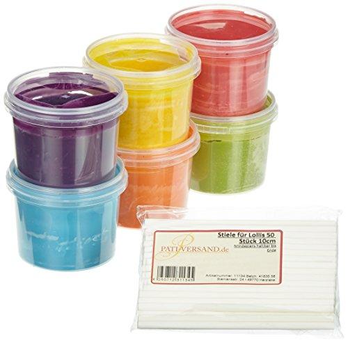 Pati-Versand Cake-Pop Set Rainbow, 1er Pack
