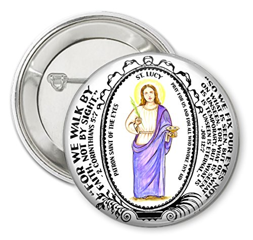 (Saint Lucy Patron of The Eyes 2.25