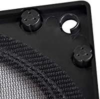 SilverStone Technology HiFlow Magnetic 140mm Fan Filter FF144 SST-FF144B