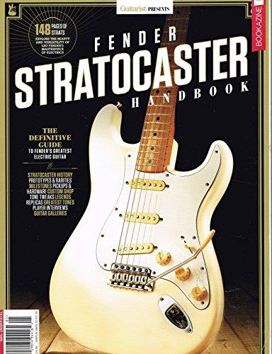 Guitarist presents Fender Stratocaster Hand Book Magazine