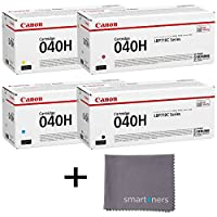 Canon CRG-040H High Yield Toner Set w/ micro smartoners cloth