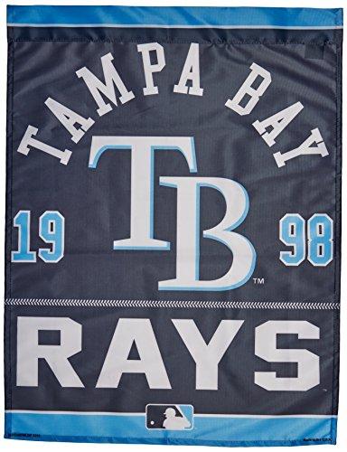 "MLB Tampa Bay Rays Vertical Flag, 27"" x 37"""