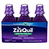 ZzzQuil Nighttime Sleep-Aid - Berry Flavor - 12 fl. oz...