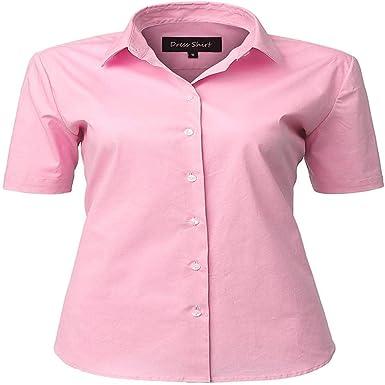 Fashion Nnova - Camisa de Manga Larga para Mujer, de algodón ...