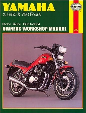 i5motorcycle 1980 1984 yamaha xj 650 750 xj650 xj750 maxim seca haynes service repair manual  wiring diagram 1983 yamaha midnight maxim #3