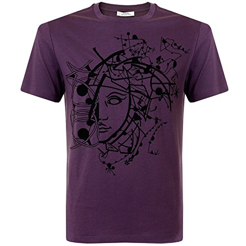268fe9fcbbc Versace Collection Printed Violet T-Shirt (X-Large ) - Import It All