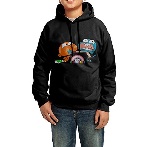 GGDD Boys & Girls The Amazing World Of Gumball Brother Jogging Cool Hoodie Hoodies Leisure Style XL (Marilyn Monroe Costume For Kids)