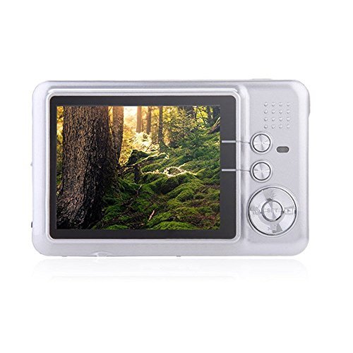 PowMax WW-49 2.7 Inch TFT 8X Optical Zoom 18MP 1280 X 720 HD Anti-shake Smile Capture Digital Video Camera(white)