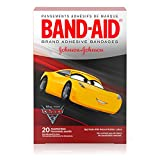 Band-Aid Brand Adhesive Bandages Featuring Disney-Pixar Cars For Kids, Assorted Sizes, 20 Count(Pack Of 6)
